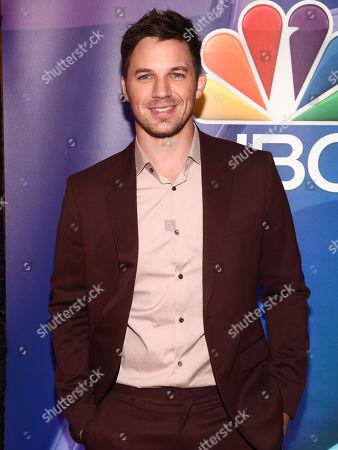 Matt Lanter attends NBC's fall New York press junket at The Four Seasons Hotel, in New York