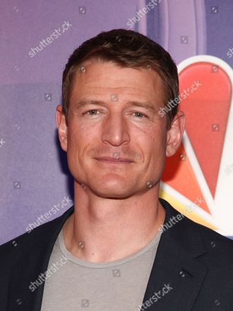 Philip Winchester attends NBC's fall New York press junket at The Four Seasons Hotel, in New York