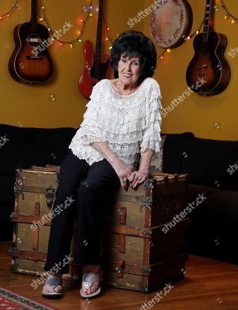 Stock Image of Singer and songwriter Wanda Jackson poses in Nashville, Tenn