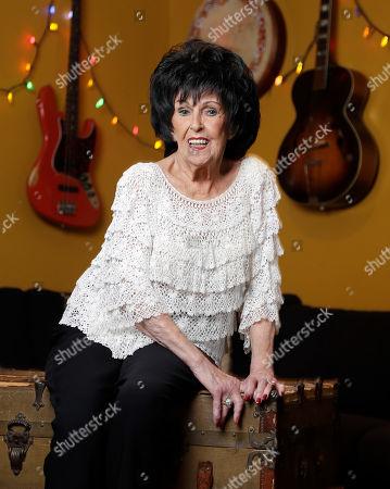 Stock Picture of Singer and songwriter Wanda Jackson poses in Nashville, Tenn