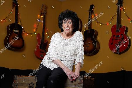 Singer and songwriter Wanda Jackson poses in Nashville, Tenn