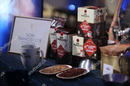 Don Francisco Coffee is seen during the 2018 Governors Ball Sneak Peek Press Preview for the 70th Emmy Awards at the L.A. Live Event Deck, in Los Angeles, CA