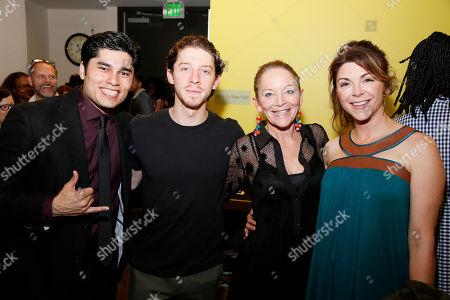 Stock Image of Peter Mendoza, Will Hochman, Mary Mara and Amy Pietz