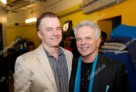 Stock Photo of Michael O'Keefe and Tony Denison