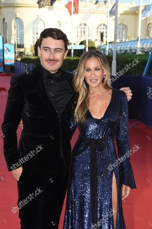 Stock Picture of Fabien Constant and Sarah Jessica Parker