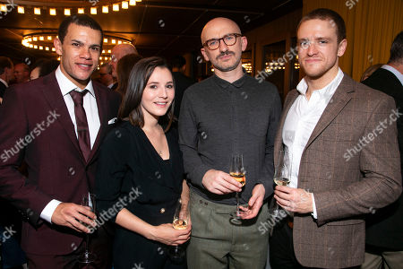Julian Moore-Cook (Joey), Charlie Murphy (Mairead), Will Irvine (Christy) and Brian Martin (James)