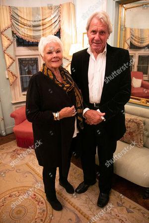 Judi Dench and David Mills