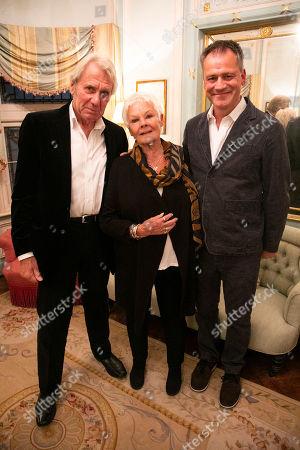 David Mills, Judi Dench and Michael Grandage (Director)