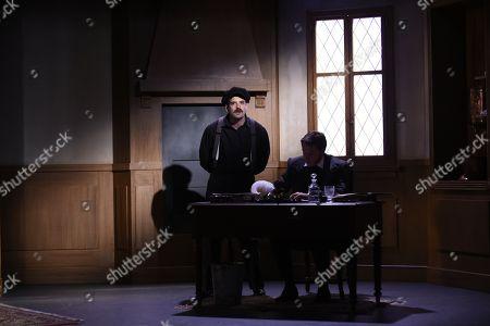 Stock Picture of Thomas Sagols and Davy Sardou