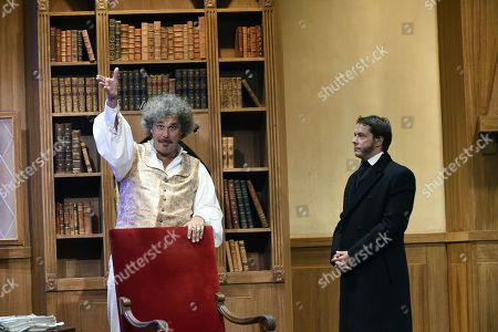 Stock Image of Xavier Lemaire and Davy Sardou