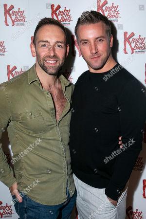 Darren Carnall (Assistant Choreographer) and Robert Jones (Swing/Dance Captain)