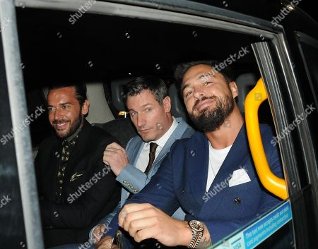 Peter Wicks, Dean Gaffney and Mario Falcone