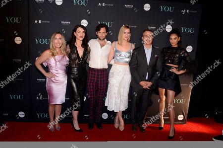 Editorial picture of 'You' TV show premiere, Paleyfest, New York, USA - 06 Sep 2018