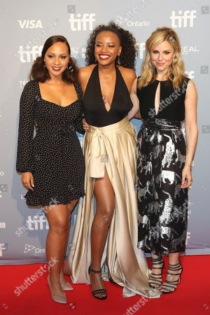Jasmine Cephas Jones, Chante Adams, and Cara Buono