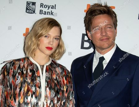 French actress and cast member Lea Seydoux (L) and Danish director Thomas Vinterberg (R) arrive for the screening of the movie 'Kursk' during the 43rd annual Toronto International Film Festival (TIFF) in Toronto, Canada, 06 September 2018. The festival runs from 06 to 16 September.