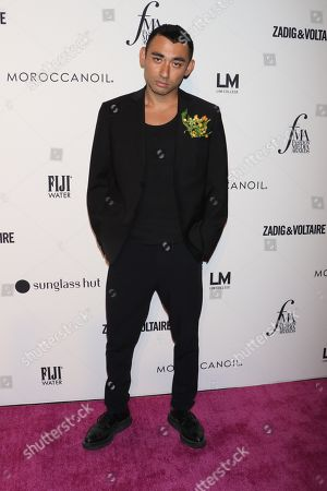 Editorial image of The Daily Front Row Fashion Media Awards, Arrivals, New York Fashion Week, USA - 06 Sep 2018