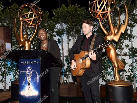 Janice Freeman, Luke Wade. Janice Freeman, left, and Luke Wade perform at The Television Academy's Casting Directors Nominee Reception at Mr. C Beverly Hills, in Beverly Hills, Calif