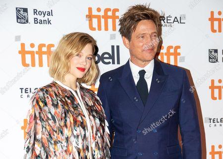 Stock Picture of Lea Seydoux and Thomas Vinterberg