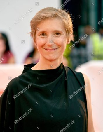 "Stock Picture of Bathsheba Doran attends the gala for ""Outlaw King"" on day 1 of the Toronto International Film Festival at Roy Thomson Hall, in Toronto"