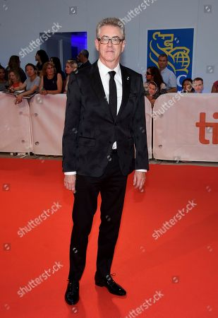 """TIFF director and CEO Piers Handling attends the gala for """"Outlaw King"""" on day 1 of the Toronto International Film Festival at Roy Thomson Hall, in Toronto"""