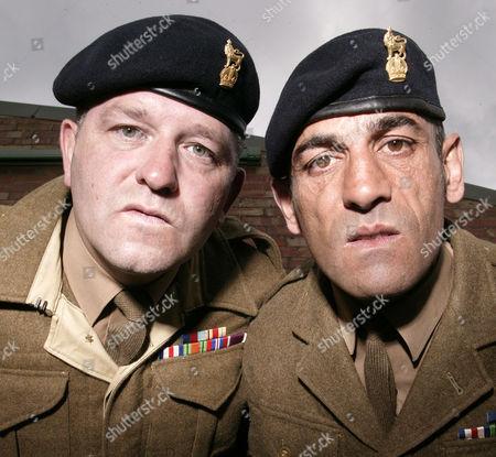 Stock Image of 'Bad Lads Army' - (L-R)Corporal Joe Murray and Corporal Richard Nauyokas.