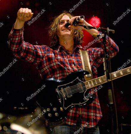 Stock Photo of The Zutons - Dave McCabe