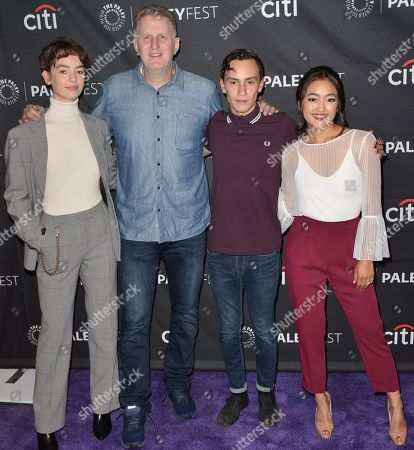 Editorial photo of 'Atypical' TV show screening, Paleyfest, Los Angeles, USA - 06 Sep 2018