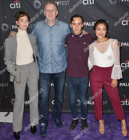 Editorial picture of 'Atypical' TV show screening, Paleyfest, Los Angeles, USA - 06 Sep 2018