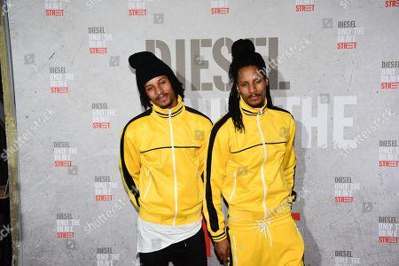 Laurent Nicolas and Larry Nicolas a.k.a Les Twins