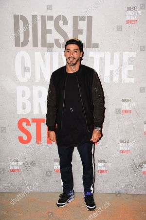 Editorial picture of Diesel Fragrance 'Only the Brave Street' Launch Party, Paris, France - 06 Sep 2018