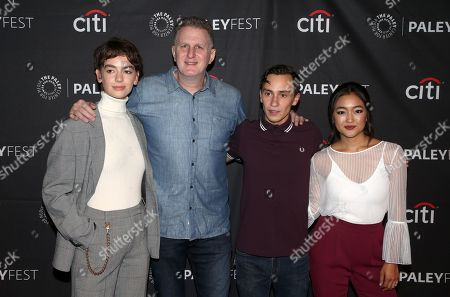 Brigette Lundy-Paine, Michael Rapaport, Keir Gilchrist, Amy Okuda