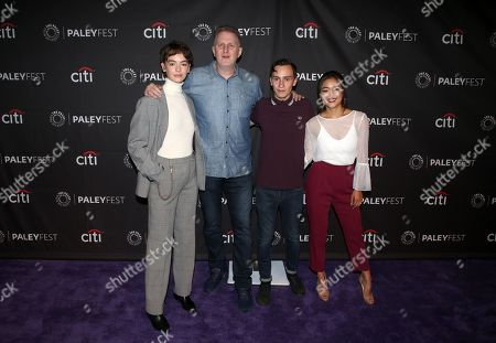 Stock Picture of Brigette Lundy-Paine, Michael Rapaport, Keir Gilchrist, Amy Okuda