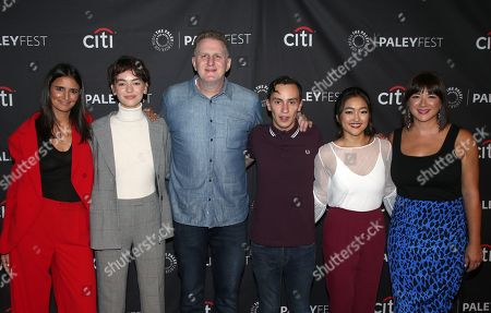 Stock Photo of Robia Rashid, Brigette Lundy-Paine, Michael Rapaport, Keir Gilchrist, Amy Okuda, Mary Rohlich