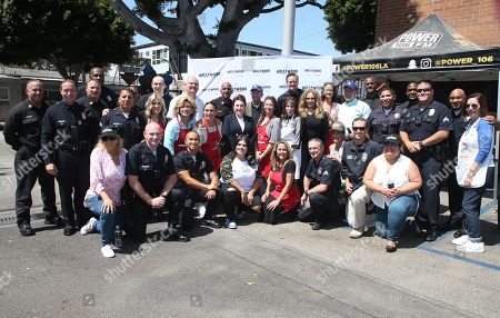 Editorial photo of Hollywood Chamber Of Commerce's 24th Annual Police and Firefighter appreciation Day, Los Angeles, USA - 06 Sep 2018