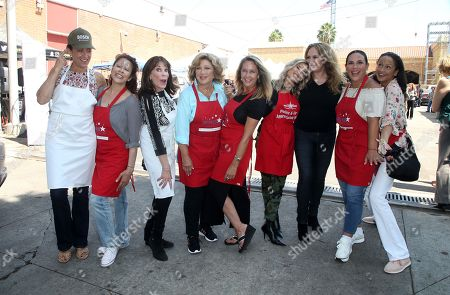 Stock Picture of Leron Gubler, Kate Linder, Amy Aquino, Angelica Maria, Erin Murphy, Ellen K, Angelica Vale, Catherine Bach, Anne-Marie Johnson, Captain Cory Palka