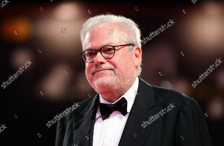 Italian filmmaker Roberto Ando arrives for the premiere of 'Una storia senza nome' during the 75th annual Venice International Film Festival, in Venice, Italy, 07 September 2018. The movie is presented out of competition at the festival running from 29 August to 08 September 2018.