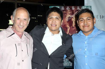 Stock Photo of Richard Portnow, Johnny Ortiz, Jessie Ortiz
