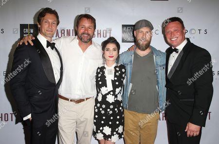 Editorial image of 'Warning Shot' film premiere, Los Angeles, USA - 06 Sep 2018