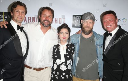 Editorial picture of 'Warning Shot' film premiere, Los Angeles, USA - 06 Sep 2018