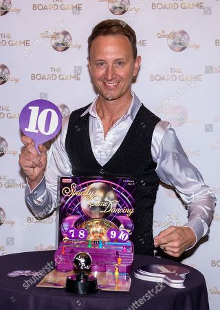 Strictly Come Dancing's former Strictly Pro dancer  Ian Waite at the launch of Strictly Come Dancing: The Board Game at The Cafe de Paris