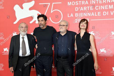 Roberto Ando, Alessandro Gassmann, Micaela Ramazzotti, Renato Carpentieri