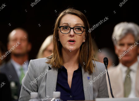 Melissa Smithe. Melissa Smith, a teacher from Oklahoma City, Okla. appears before the Senate Judiciary Committee during the final stage of the confirmation hearing for President Donald Trump's Supreme Court nominee, Brett Kavanaugh, on Capitol Hill in Washington