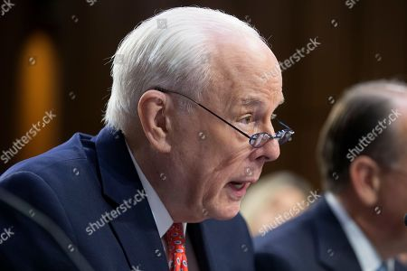 Former counsel to US President Richard Nixon John Dean testifies to express his opposition to the nomination of circuit judge Brett Kavanaugh to be an Associate Justice of the Supreme Court, during the fourth day of the Senate Judiciary Committee's confirmation hearing on Kavanaugh, on Capitol Hill in Washington, DC, USA, 07 September 2018. President Trump nominated Kavanaugh to fill the seat of retiring justice Anthony Kennedy. If confirmed, Kavanaugh would give conservatives a five-member majority in the high court.