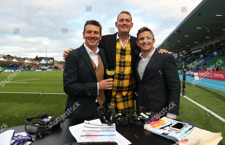 Glasgow Warriors vs Munster. Premier Sports' Dougie Vipond, Doddie Weir and Rory Lawson ahead of the game