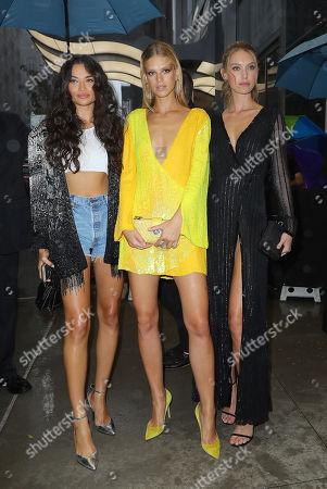Shanina Shaik, Nadine Leopold, Hannah Ferguson