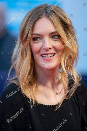 French actress Kate Moran arrives on the red carpet prior to the premiere of 'Line of Fire' during the 44th Deauville American Film Festival, in Deauville, France, 07 September 2018. The festival runs from 31 August to 11 September.