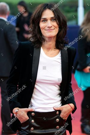 French actress Clotilde Hesme arrives on the red carpet prior to the premiere of 'Line of Fire' during the 44th Deauville American Film Festival, in Deauville, France, 07 September 2018. The festival runs from 31 August to 11 September.