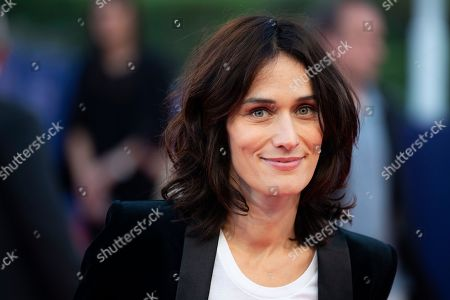 Stock Picture of French actress Clotilde Hesme arrives on the red carpet prior to the premiere of 'Line of Fire' during the 44th Deauville American Film Festival, in Deauville, France, 07 September 2018. The festival runs from 31 August to 11 September.