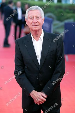 French director Regis Wargnier arrives on the red carpet prior to the premiere of 'Line of Fire' during the 44th Deauville American Film Festival, in Deauville, France, 07 September 2018. The festival runs from 31 August to 11 September.