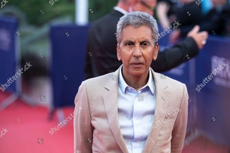 French-Algerian director Rachid Bouchareb arrives on the red carpet prior to the premiere of 'Line of Fire' during the 44th Deauville American Film Festival, in Deauville, France, 07 September 2018. The festival runs from 31 August to 11 September.